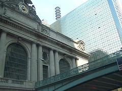 A View Looking Up At Grand Central Terminal.