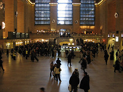 Grand Central Terminal During A Busy Time