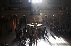 Surf Of Heavenly Sunshine, At The Grand Central Terminal