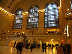 Otherwise Occupied Commuters Ignore The Magnificent Sights In Grand Central Terminal