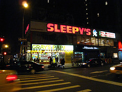 Gray's Papaya The Famous Hot-dog Restaurant At Night
