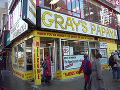 Gray's Papaya Is A Famous Hot-dog Restaurant