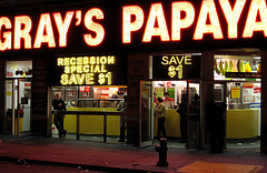 Gray's Papaya: A Beacon In The Night For Those Who Crave A Cheap Snack