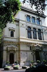The Magnificent Great Synagogue Of Rome In The Spring