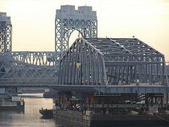 The Harlem River Bridge At Dusk