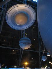 Interior Of The Hayden Planetarium.