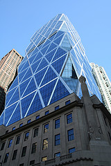 Hearst Tower, Designed By The Architect Norman Foster, Structural Engineered By Swap Cantor Seinuk