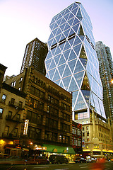 Hearst Tower Is A Busy City
