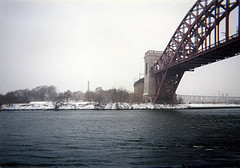 Hell Gate Bridge That Was Completed On September 30, 1916. Was The  Inspiration For The Sydney Harbor Bridge.