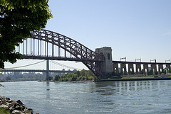 Hell Gate Bridge Is The Largest Of Three Bridges, Along With More Than 17,000 Feet