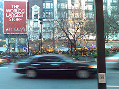 Herald Square: Macy's Sparkles On An Evening Around The Winter Holidays