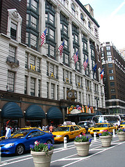 Macy's Department Store In Busy Herald Square, Manhattan