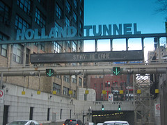 Hopefully Traffic Is Moving Better Here In The Holland Tunnel.