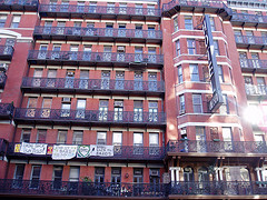 Hotel Chelsea, In The Chelsea Area Of Manhattan, Home Of Many Famous Artists Since 1883