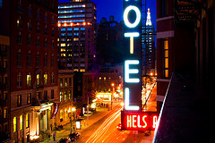 The Infamous Chelsea Hotel, One Time Residence Of Bob Dylan, Janis Joplin, And Many Others.