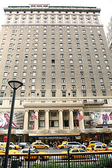 Hotel Pennsylvania, Built By The Pennsylvania Railroad, Across From Madison Square Garden