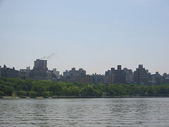 View Of Hudson, Manhattan As Seen From The Hudson River.