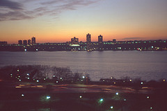 Beautiful Sunset Captured Over The Hudson River