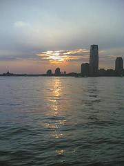 Sunset View Over The Hudson River At Hudson Place