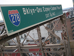 Interstate 278 Serves Much Of New York City's Local Traffic