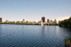 Jacqueline Kennedy Onassis Reservoir In Manhattan's Central Park