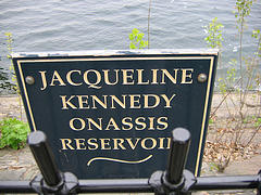 Jacqueline Kennedy Onassis Reservoir. Great Place For A Great Woman.