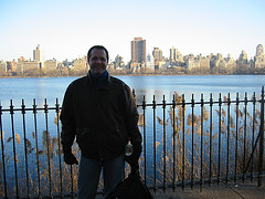 A Fall Day Outside Next To The Jacqueline Kennedy Onassis Reservoir