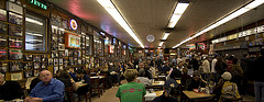 Diners Fill Katz's Delicatessen To Get A Taste Of New York's Best Kosher Deli