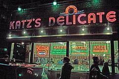 Take A Break And Stop By Katz's Delicatessen.