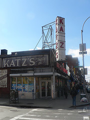 Katz's Delicatessen On The Lower East Side Of Manhattan, Good Pastrami And Hot Dogs