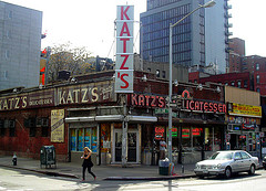 Katz's Delicatessen, Founded 1888, Sight Of A Famous Scene From 'when Harry Met Sally'