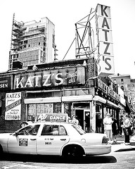 Katz's Delicatessen In The Lower East Side Where You Can Get The Best Hot Dogs