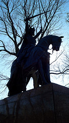 King Jagiello Monument, Polish King, Central Park
