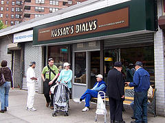 No Better Bakery To Stop By Than Kossar's Bialys.