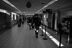 LaGuardia Airport??s Monotonous Hallways Hold The Secrets Of The World Beyond Their Gates.