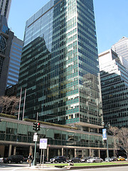 The Lever House Building Built In 1952 Has 24 Floors, Influenced Other Corporate Buildings.