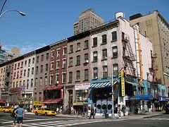 Apartments Above Stores On Lexington Avenue, Manhattan