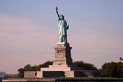 Up Close With The Statue Of Liberty On Liberty Island