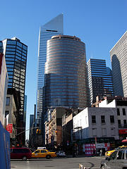 The Lipstick Building Received Its Name From Its Shape And Red Enameled Granite Exterior.