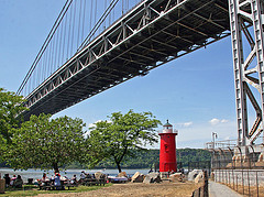 Made Famous By A 1942 Children's Book, Little Red Lighthouse Is A New York Landmark.