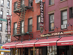 Place Of Possible The Worlds Greatest Pizza, At Lombardi's.