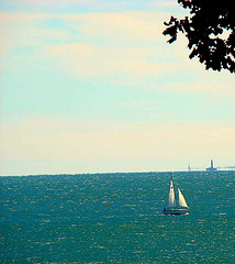 Peacefully Sailing The Long Island Sound
