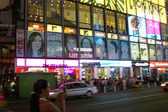 Half A Day Could Be Spent Just Watching The Changing Images On  The Mtv Screens In New York City