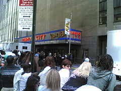 Outside Radio City Music Hall For The Mtv Awards