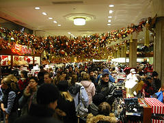 New Yorkers Trapped In The Mad Christmas Dash At Macy's.