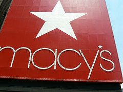 The American Department Store With Logo Star Macy's Is Located New York City