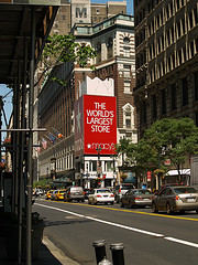 Macy's Laying The Claim To Fame As The Worlds Largest Store, I Wonder How True That Is On This Summer Day