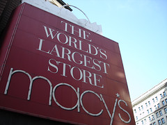 Famous New York City Landmark At The World's Largest Store, Macy's