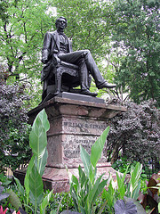 Statue Of William H. Seward In Madison Square Park.