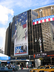 Madison Square Garden During The 2004 Republican National Convention